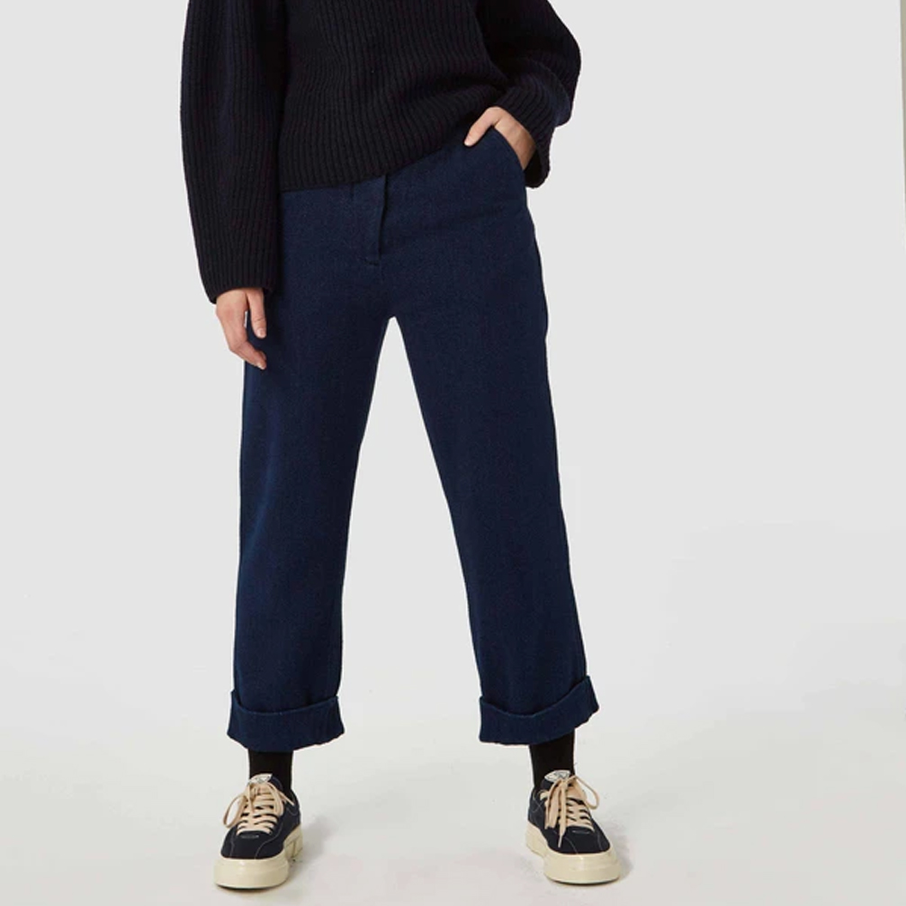 Kings of Indigo Daria Trousers- Indigo- ON SALE