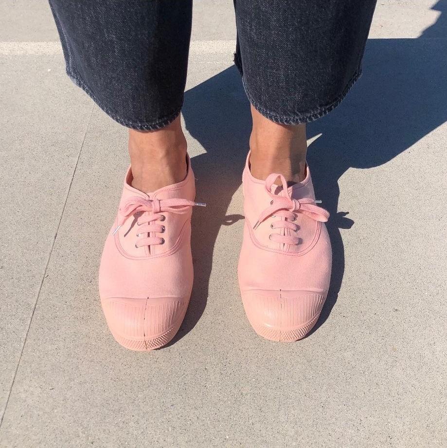 Ben Simon- Tennis shoe- Pink coloursole