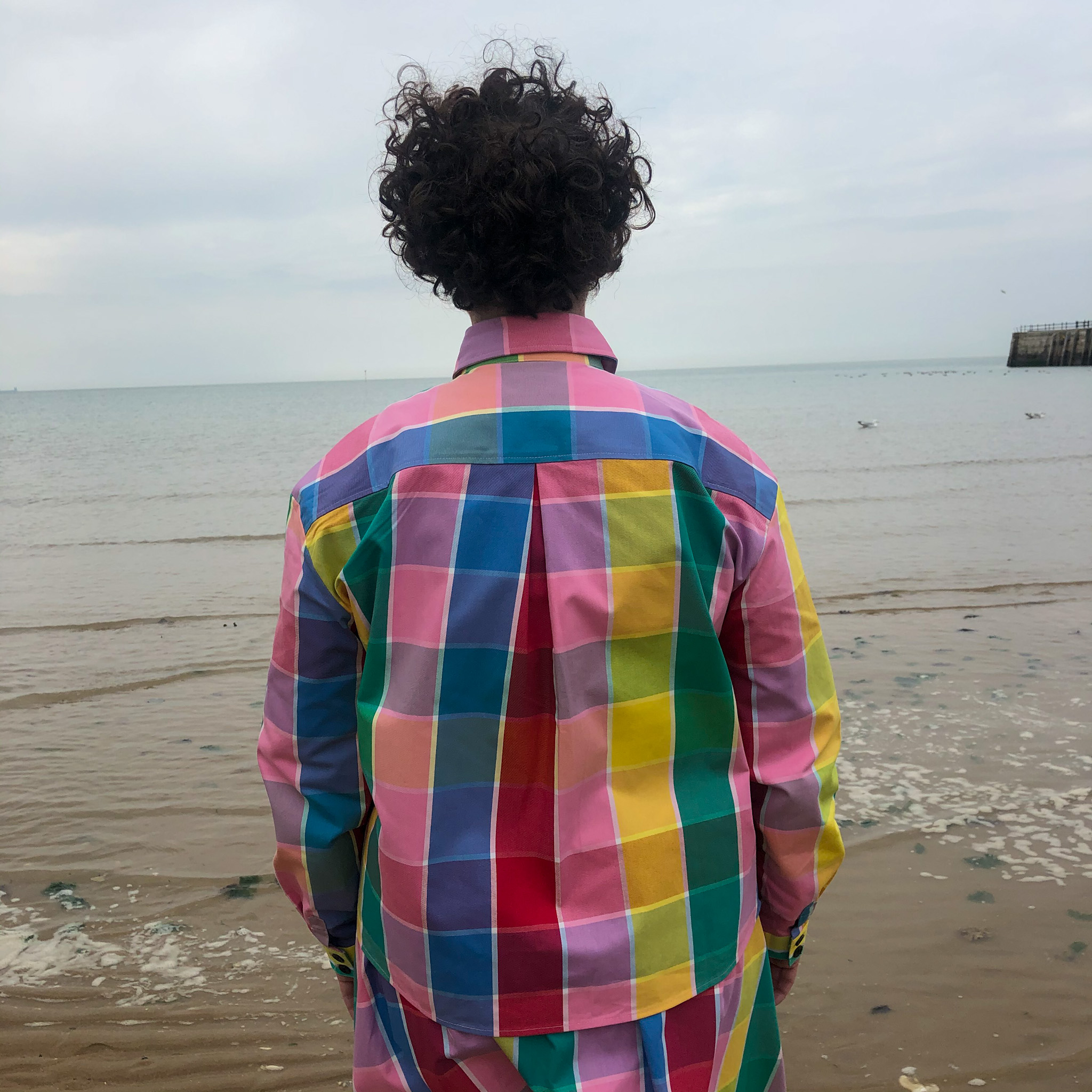 Lazy Oaf- Golden Years check shirt