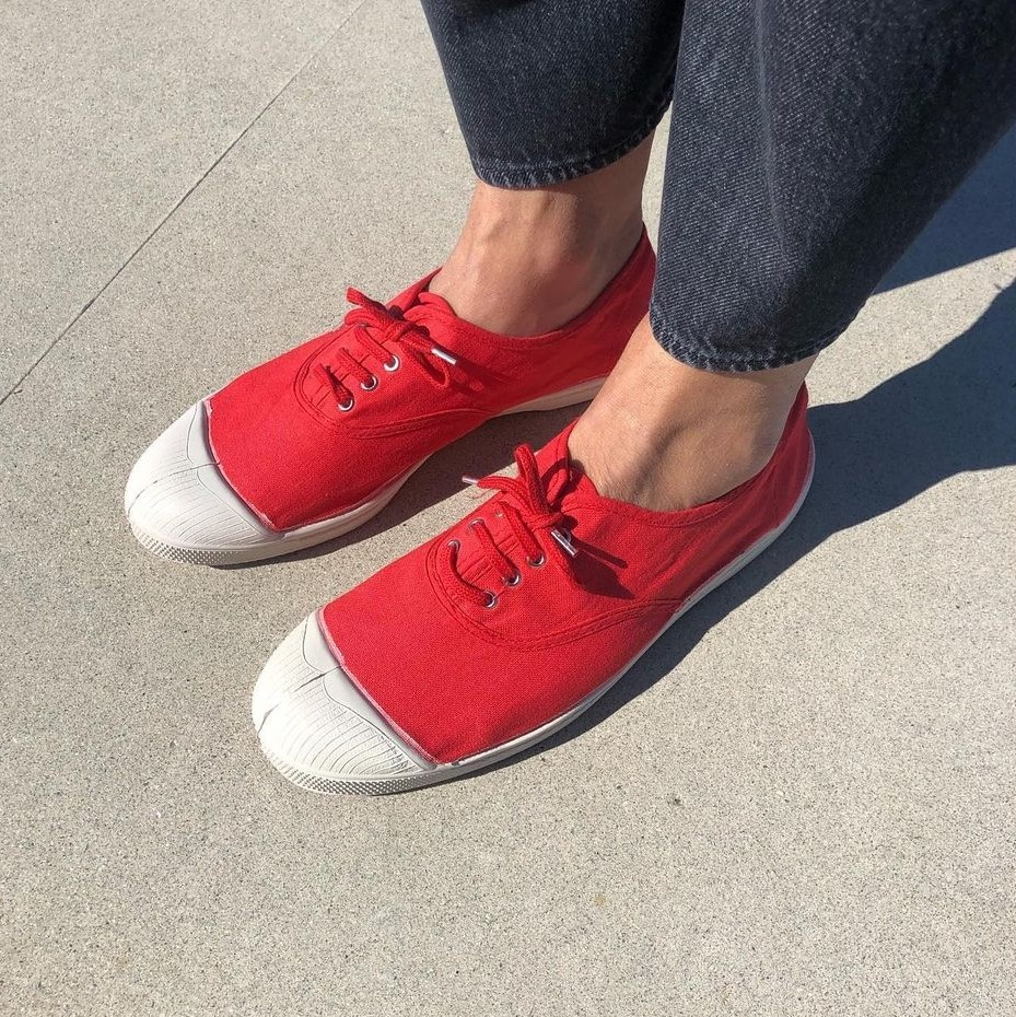 Ben Simon- Tennis shoes- Red