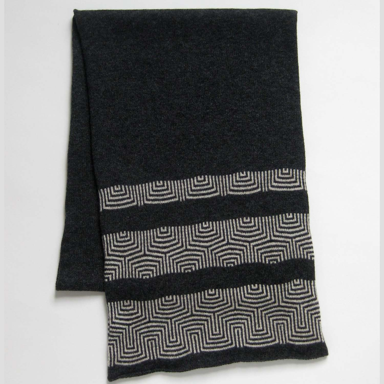 Kate Jones Knitwear- Lundy wool scarf