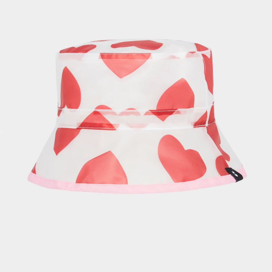 Lazy Oaf- See through heart bucket hat