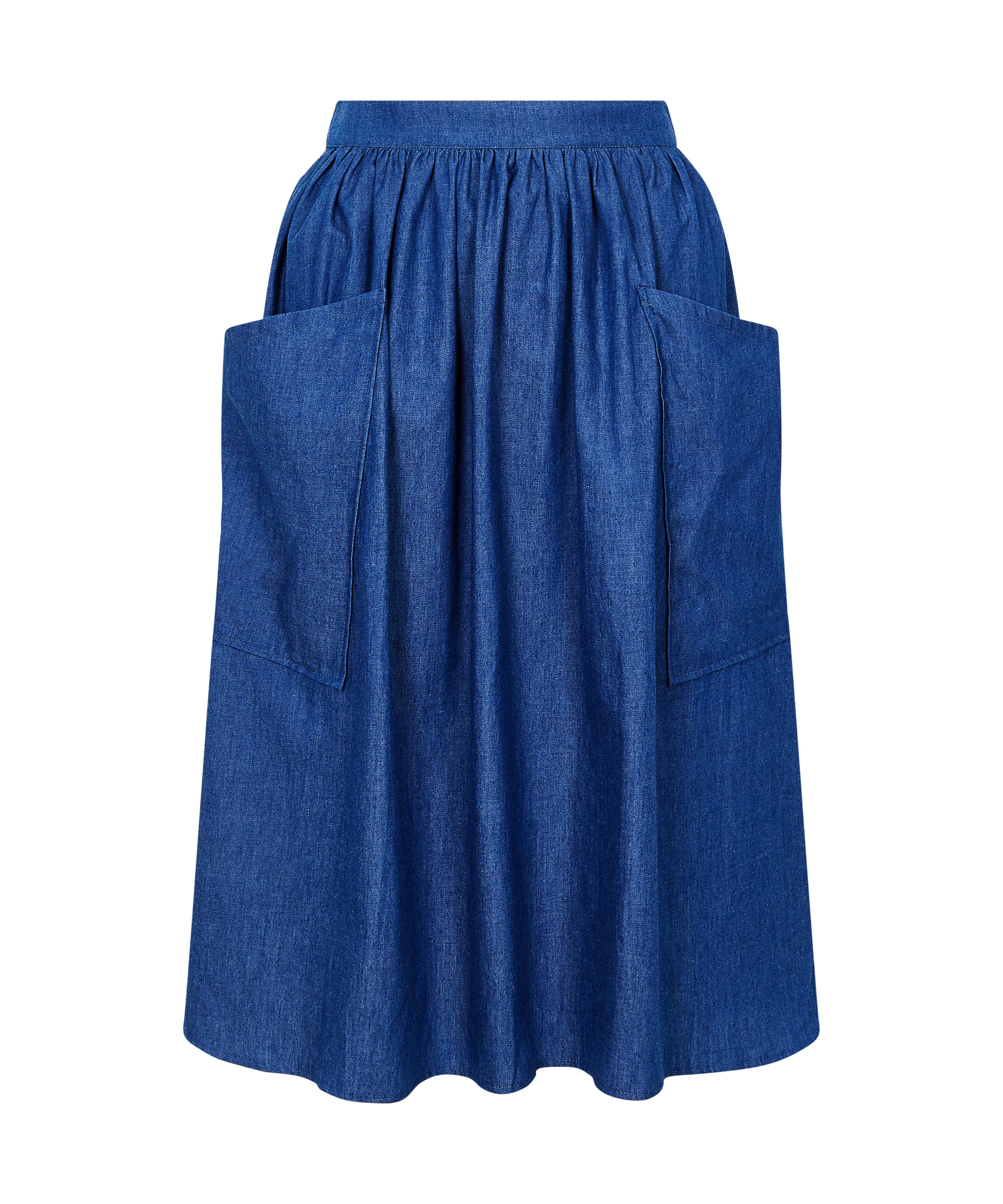 WerkHaus Margate- Chambray skirt