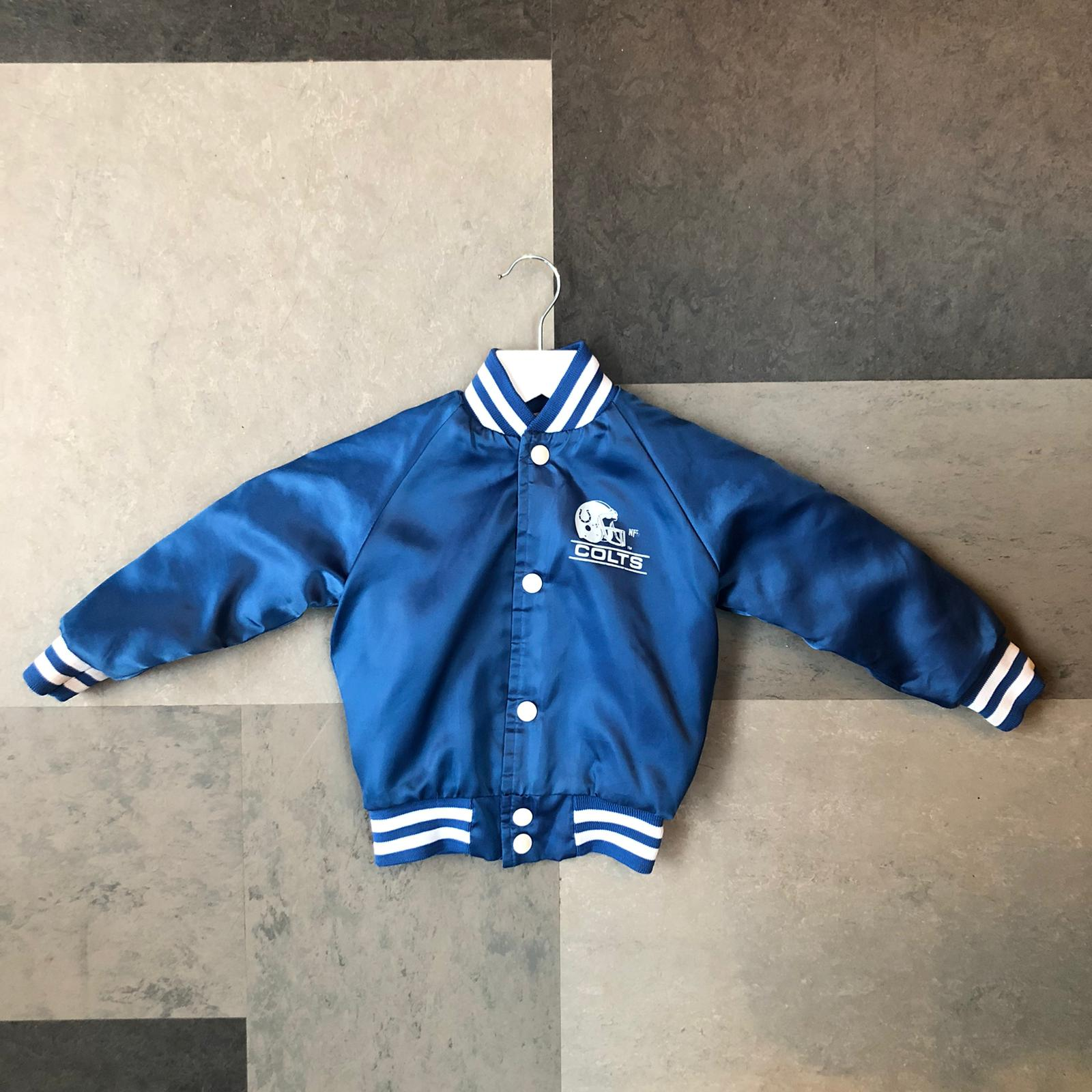 Vintage kids baseball jacket- age 1