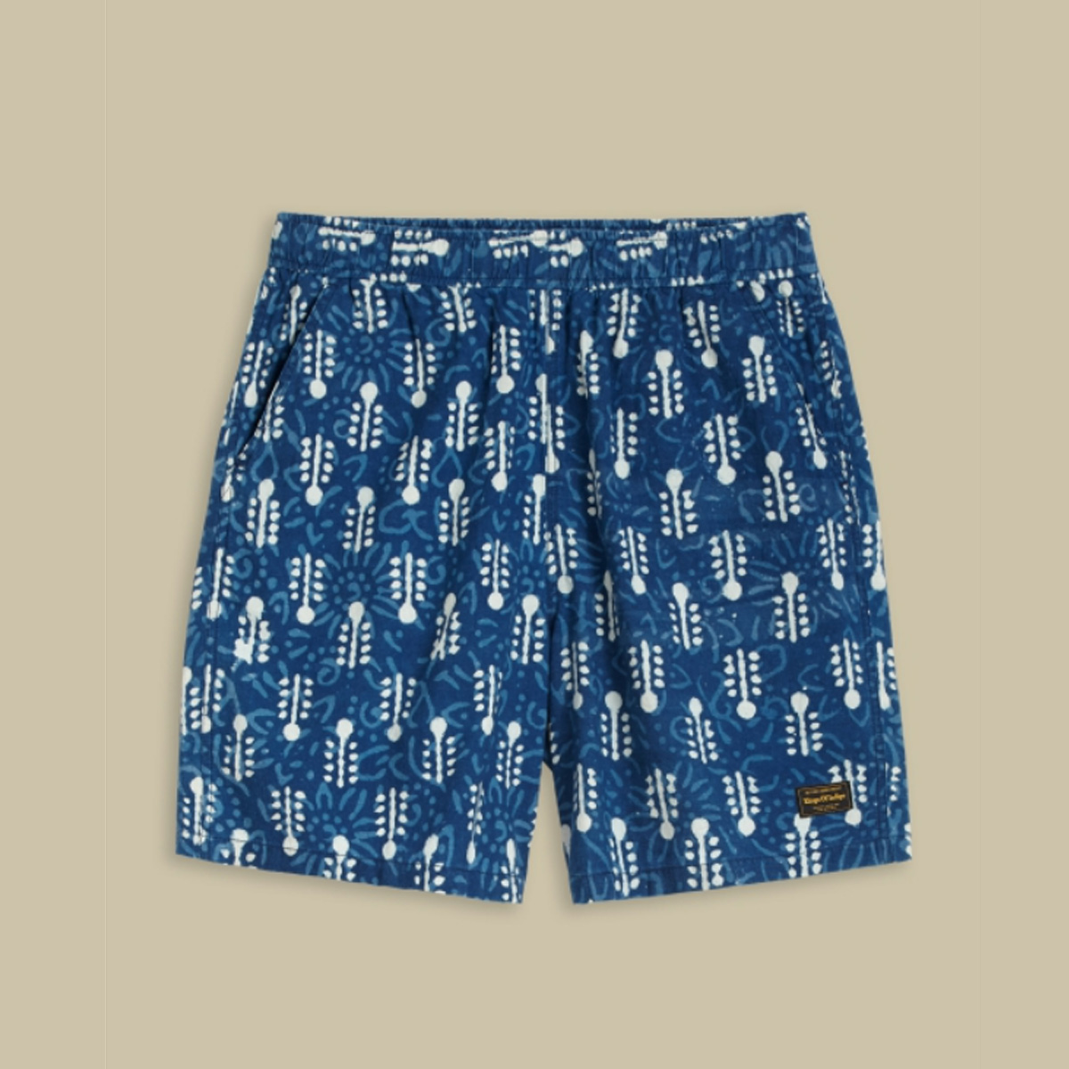 Kings of Indigo- Bidatsu woodblock dyed shorts