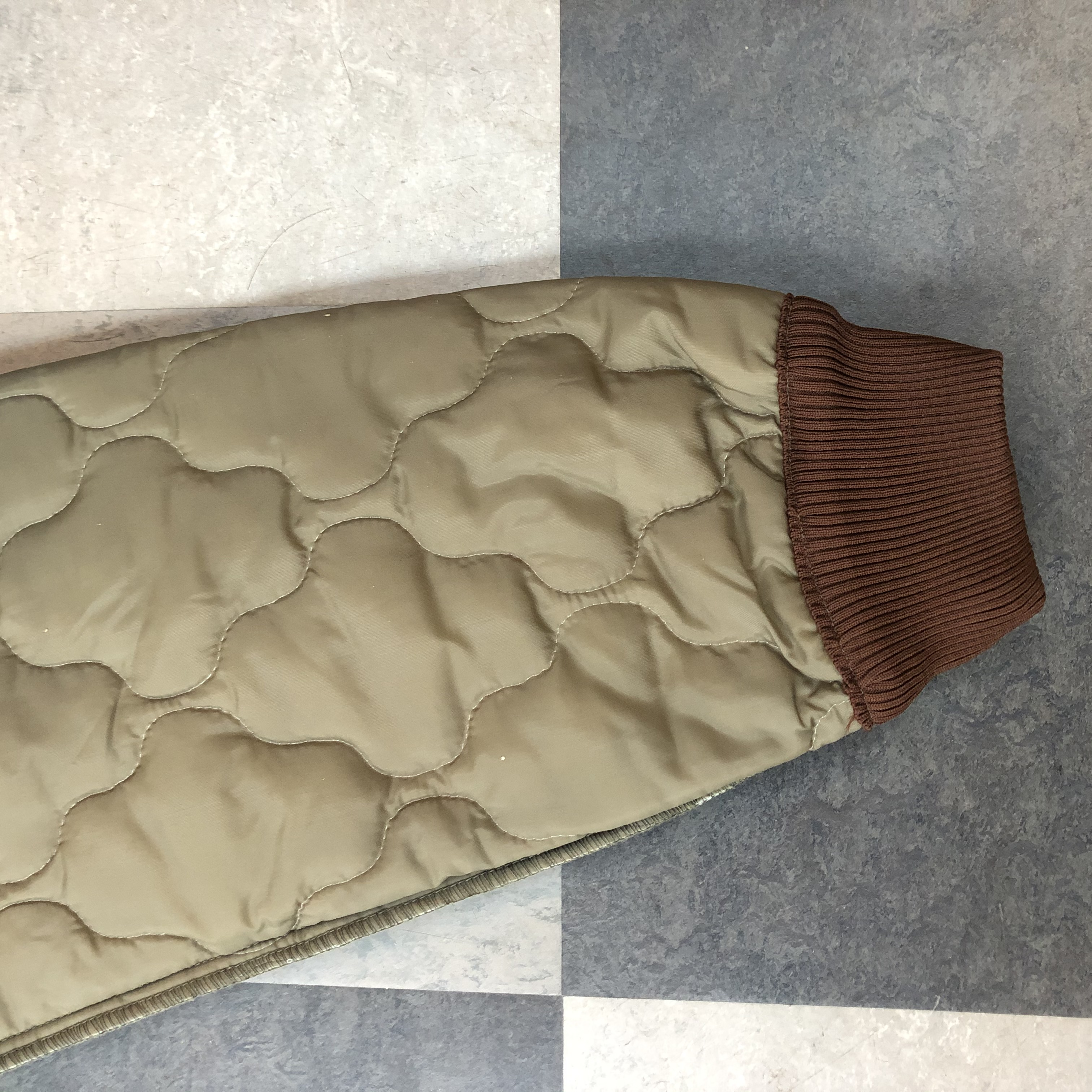 Vintage army liner trousers