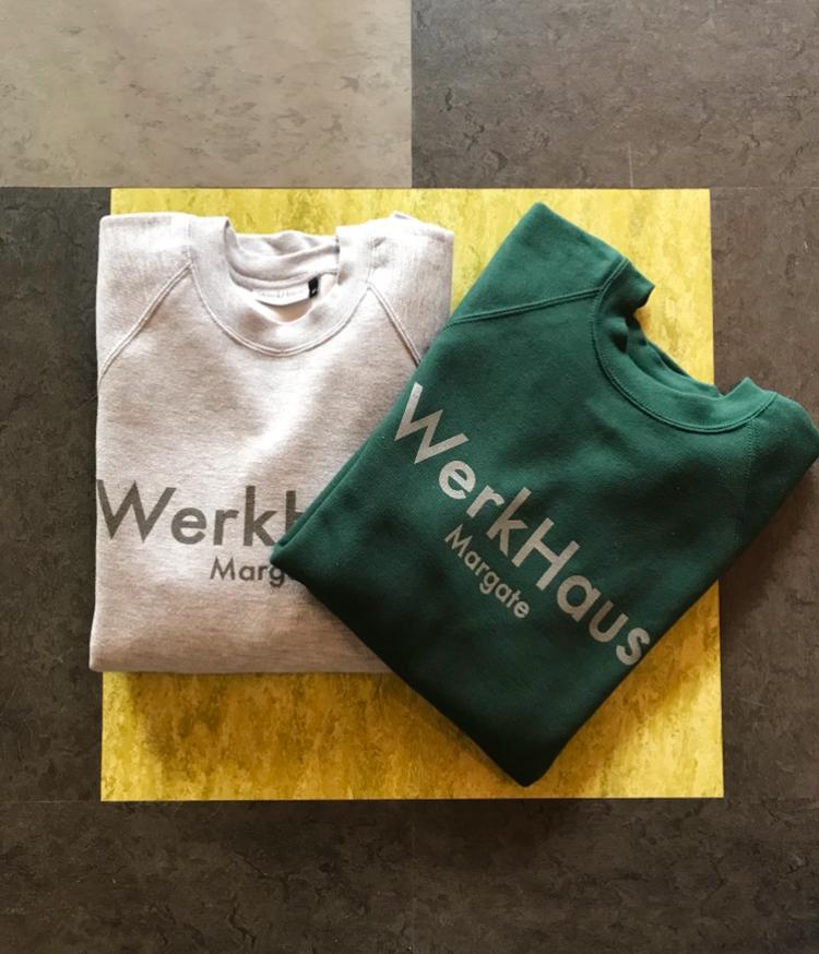 WerkHaus Margate sweatshirt- Forest green
