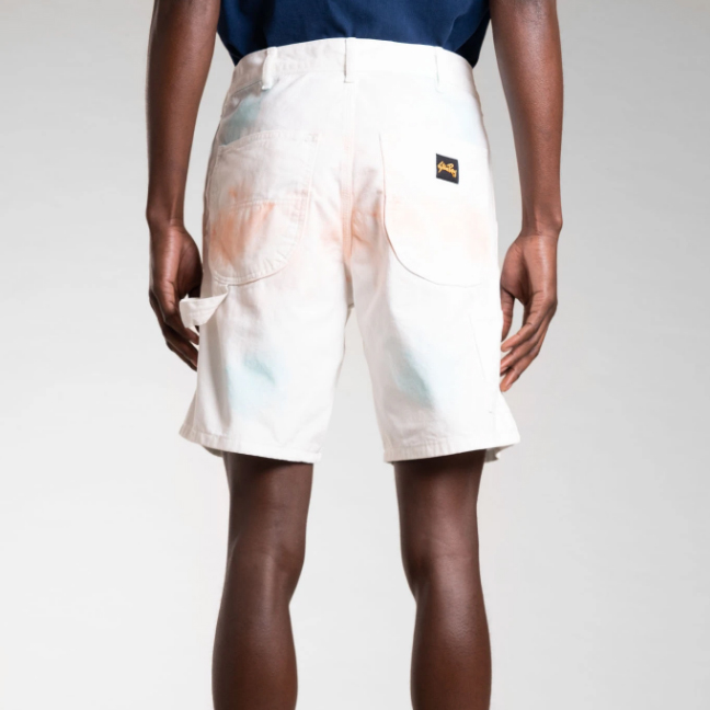 Stan Ray- tie-dye 80s painter shorts- ON SALE