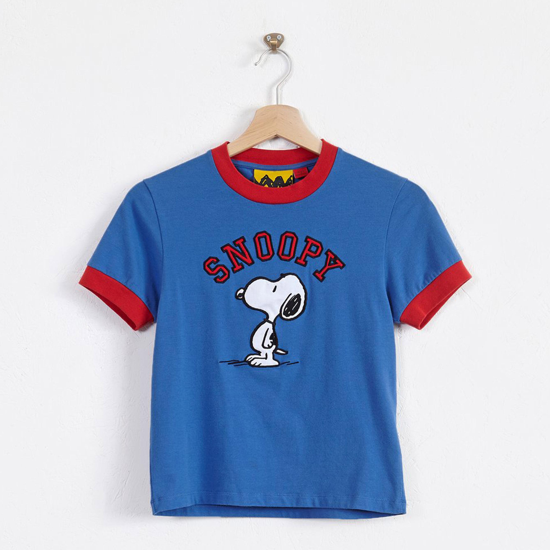 Lazy Oaf x Peanuts- Varsity T-shirt- ON SALE