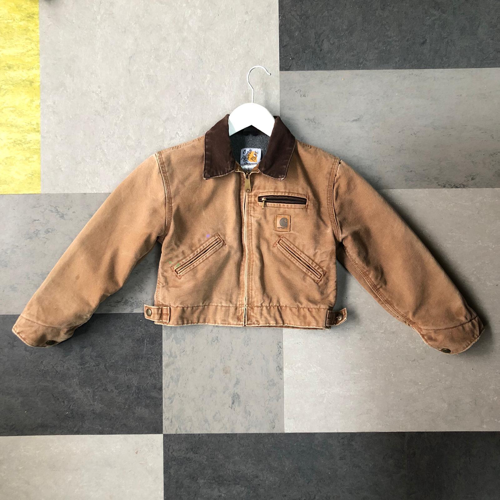 Vintage kids Carhartt jacket- age 4-7