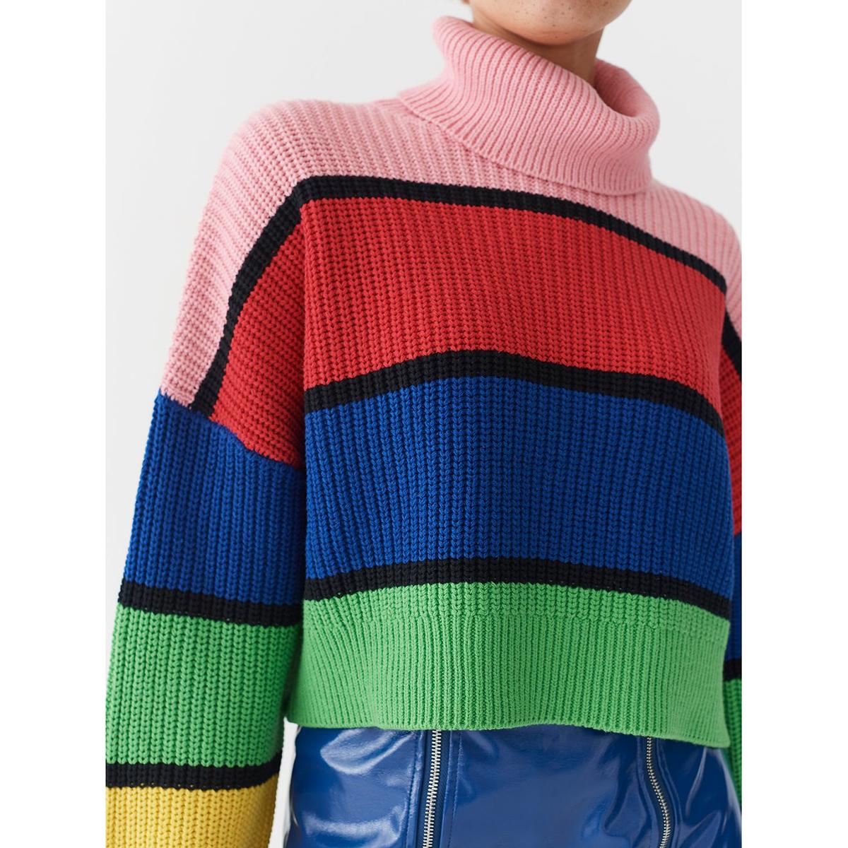 Lazy Oaf- Bright stripe jumper