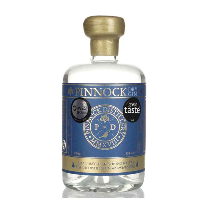 PINNOCK WARWICKSHIRE DRY GIN 42%