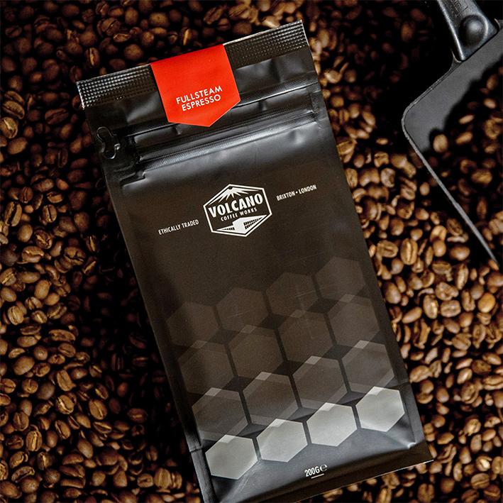 VOLCANO COFFEE FULLSTEAM ESPRESSO
