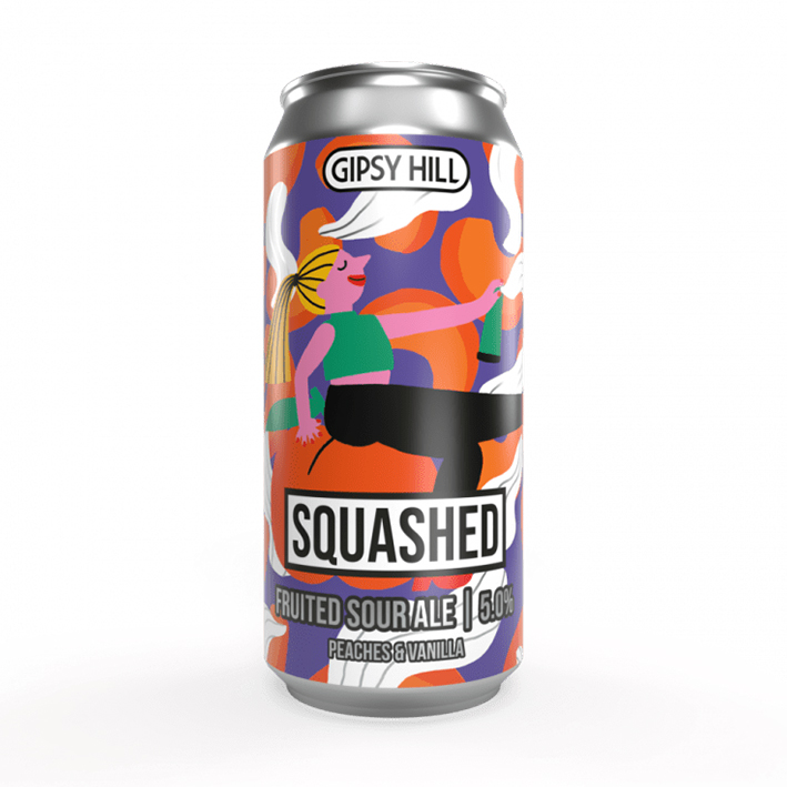 GIPSY HILL SQUASHED PEACHES & VANILLA SOUR 5.0%