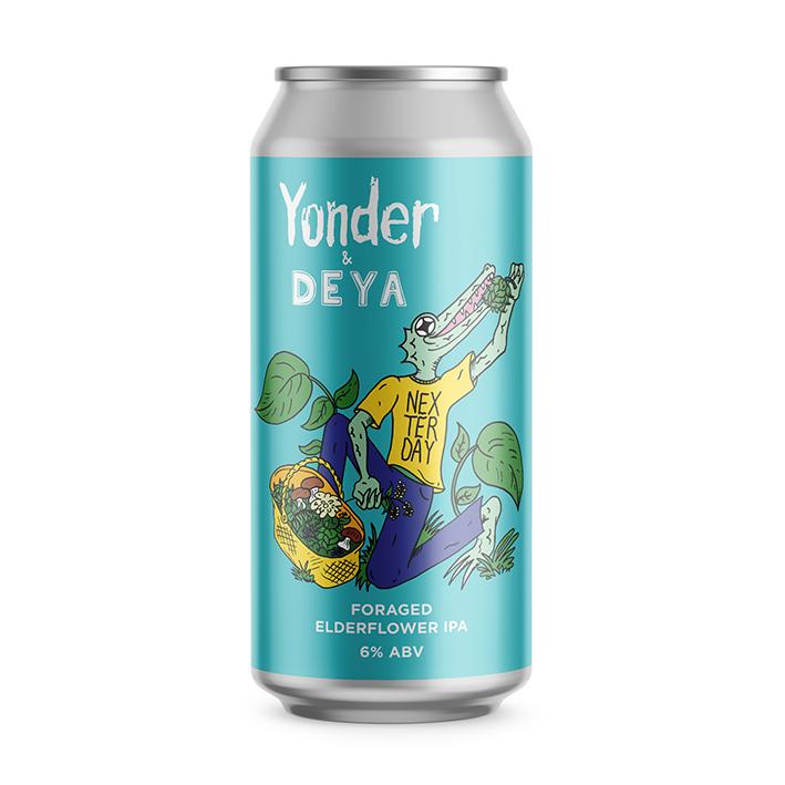 YONDER + DEYA NEXTERDAY ELDERFLOWER IPA 6.0%