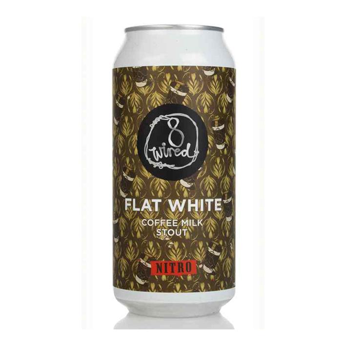 8 WIRED FLAT WHITE NITRO STOUT 5.3%