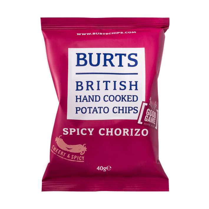 BURT'S CHIPS (VARIOUS FLAVOURS) 40g