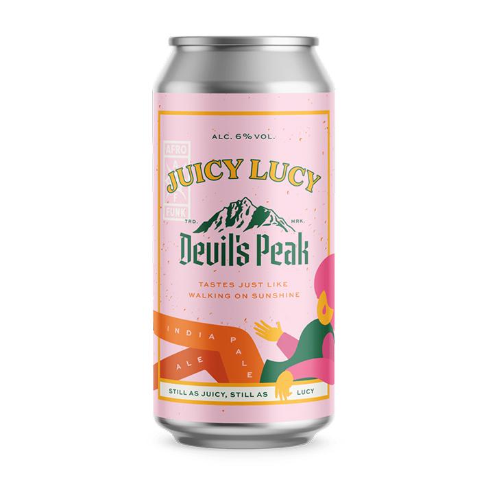 DEVIL'S PEAK JUICY LUCY IPA 6.0%