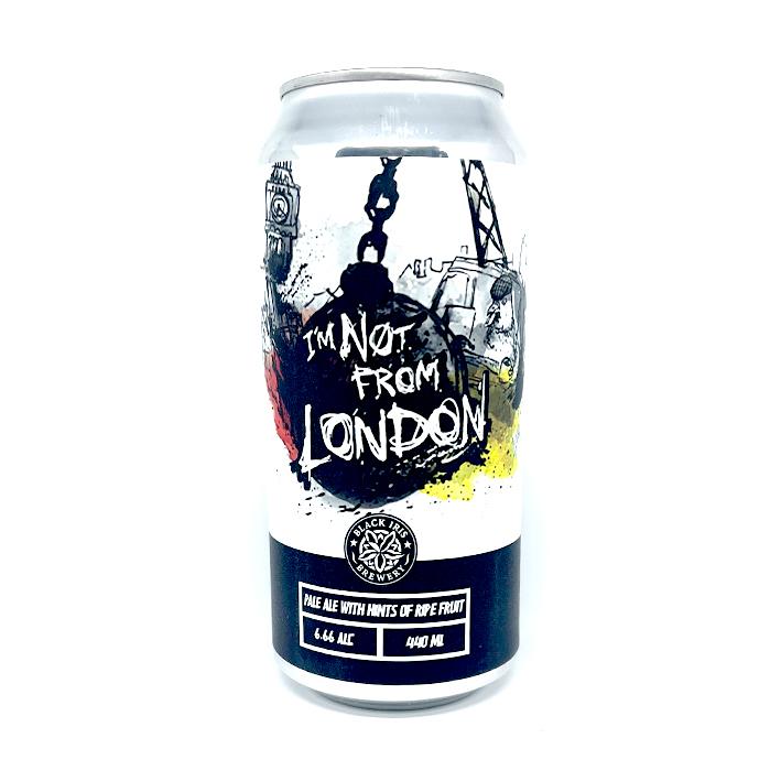 BLACK IRIS I'M NOT FROM LONDON IPA 6.66%