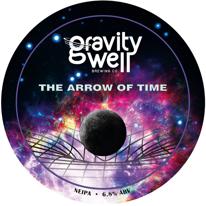 GRAVITY WELL THE ARROW OF TIME IPA 6.8%