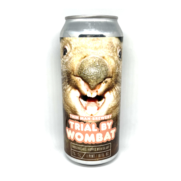 THIN MAN TRIAL BY WOMBAT IPA 7.0%
