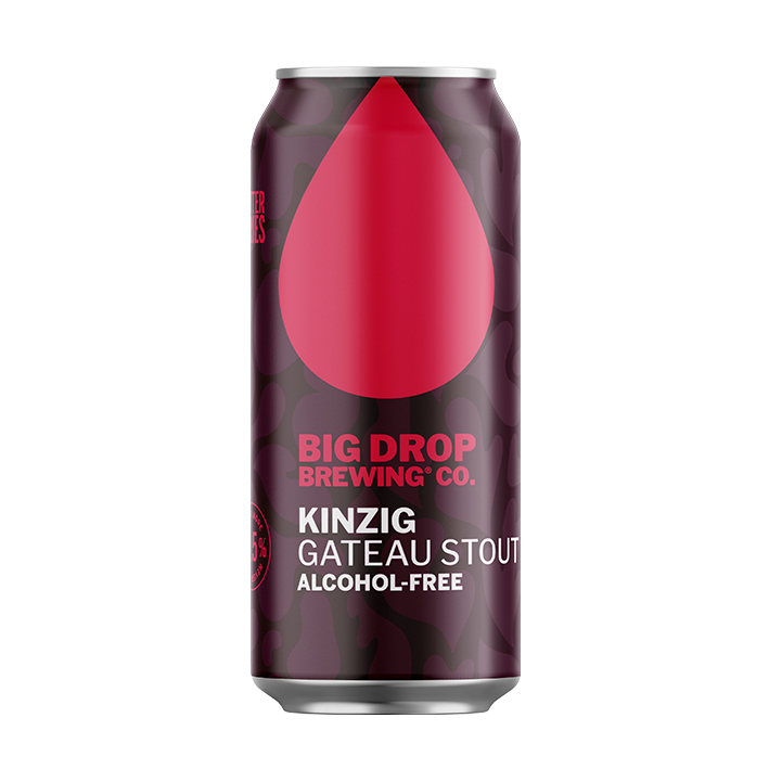 BIG DROP KINZIG GATEAU STOUT AF 0.5%