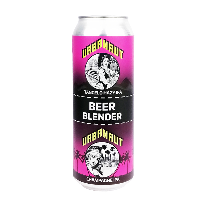 URBANAUT BEER BLENDER TANGELO x CHAMPAGNE IPA 7.5%