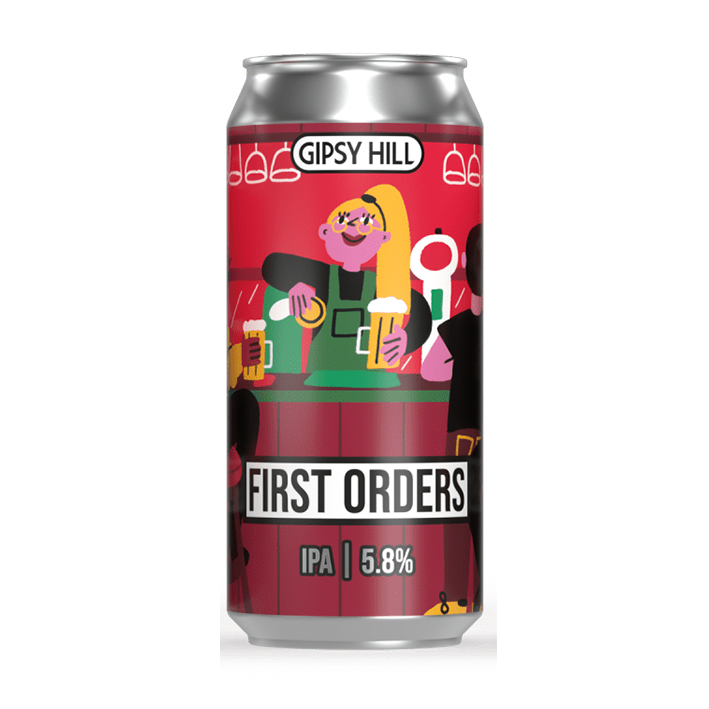 GIPSY HILL FIRST ORDERS IPA 5.8%