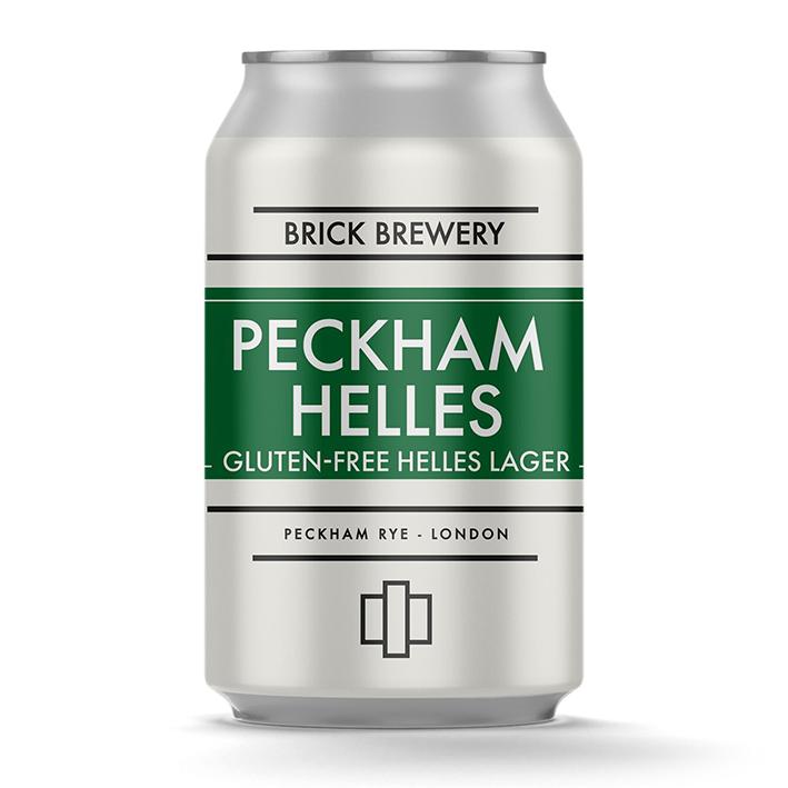 BRICK PECKHAM HELLES LAGER GF 4.2%