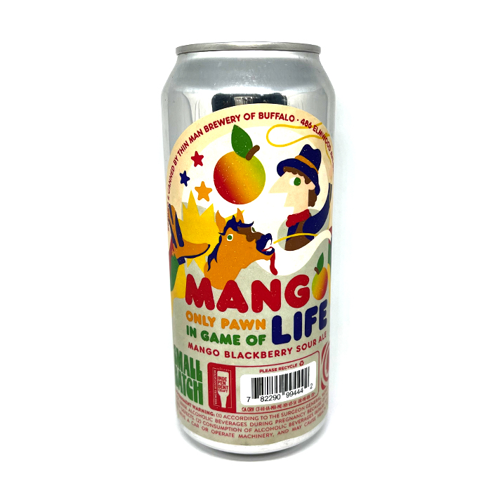 THIN MAN MANGO ONLY PAWN IN THE GAME OF LIFE SOUR 5.8%