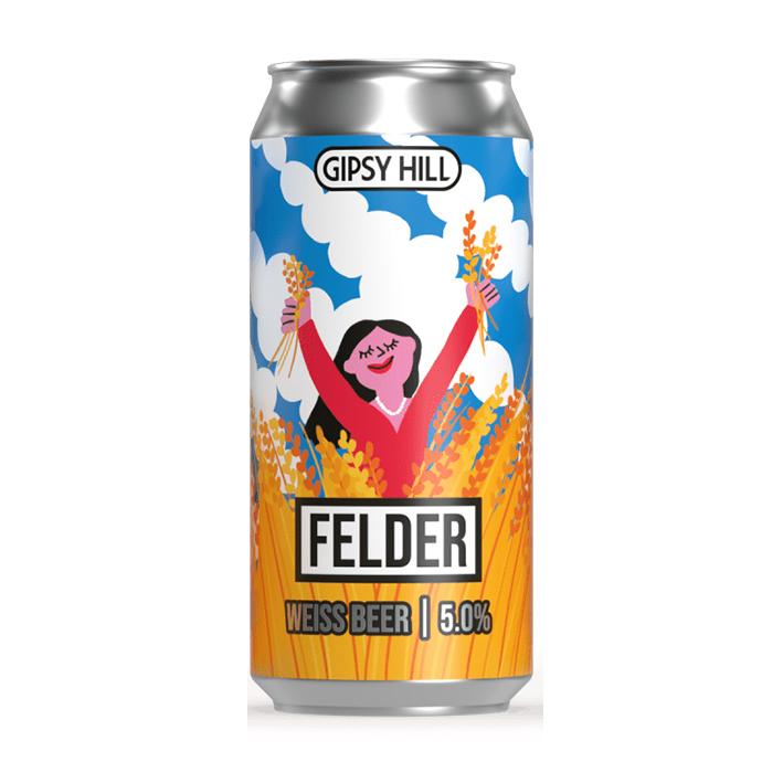 GIPSY HILL FELDER WHEAT BEER 5.0%