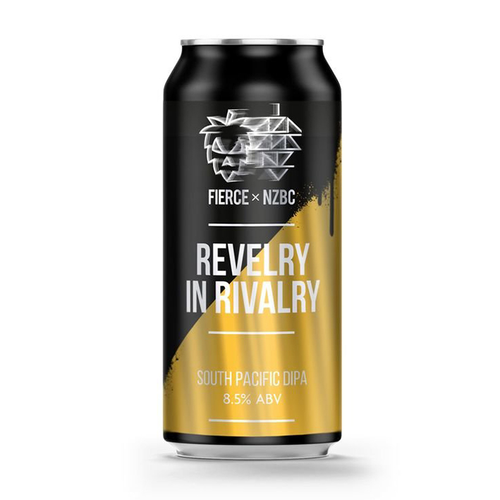 NZBC x FIERCE REVELRY IN RIVALRY DIPA 8.5%