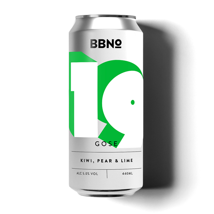 BBNO 19 GOSE KIWI PEAR & LIME 5.0%