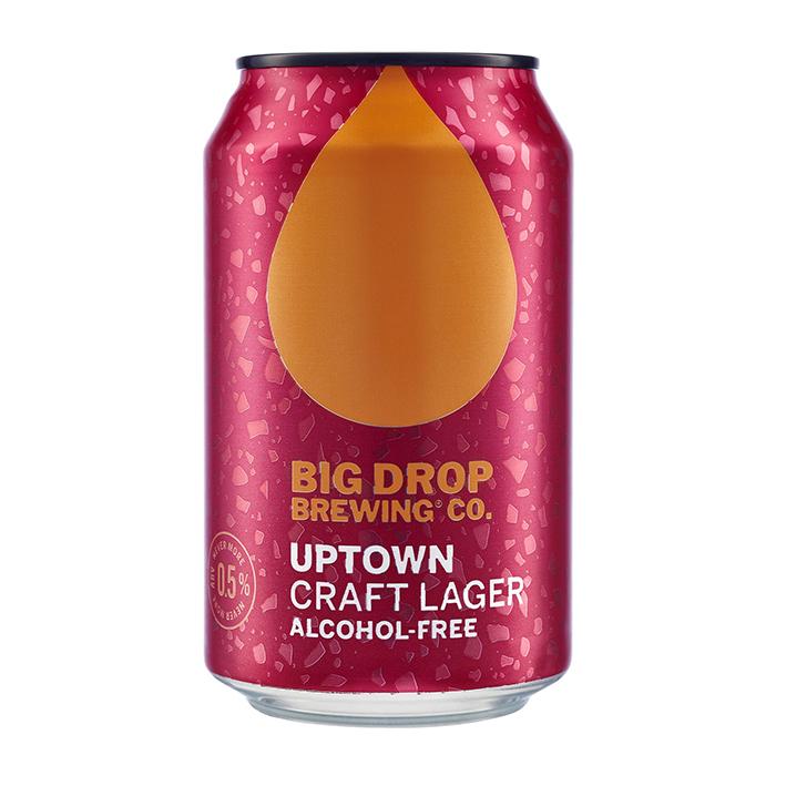 BIG DROP UPTOWN LAGER AF 0.5%