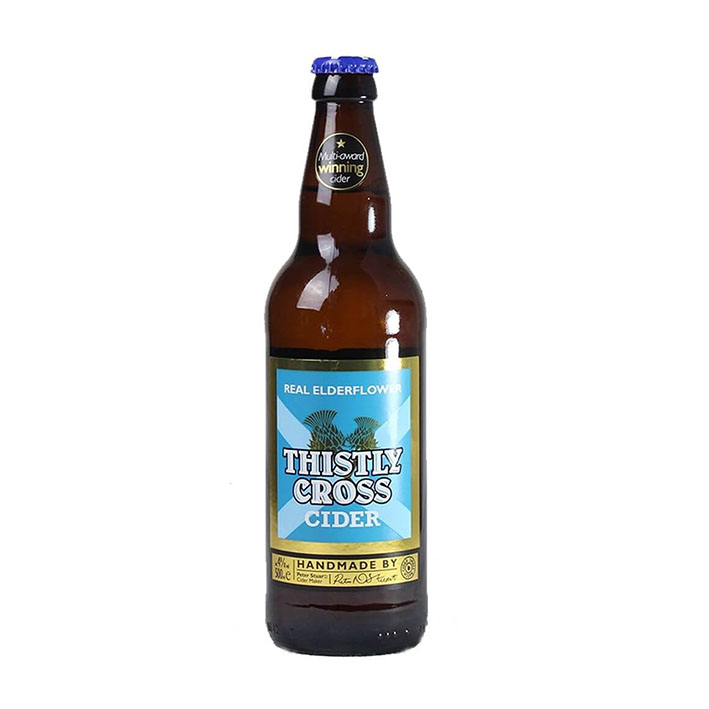 THISTLY CROSS ELDERFLOWER CIDER 4%
