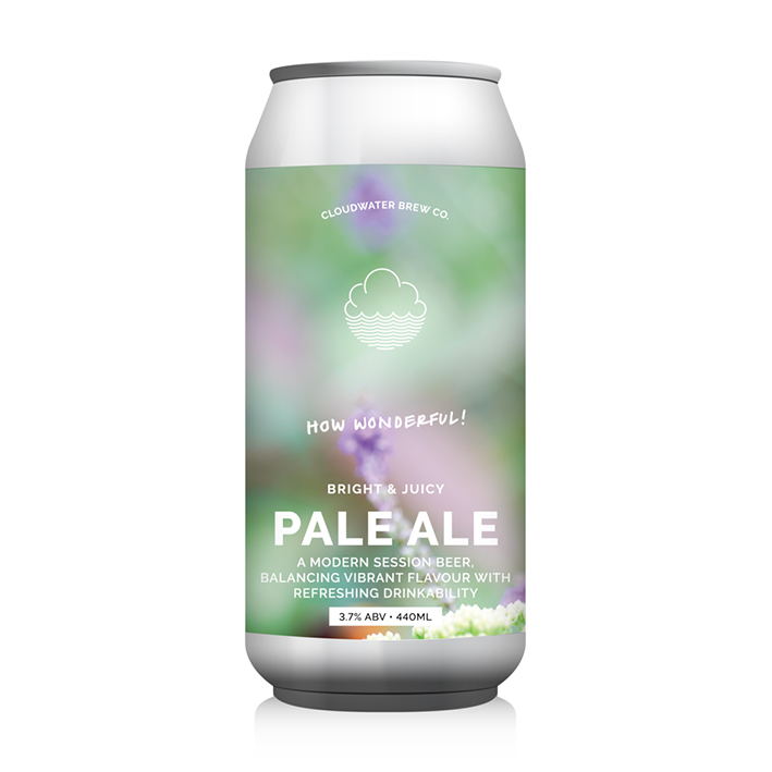 CLOUDWATER HOW WONDERFUL! PALE 3.7%