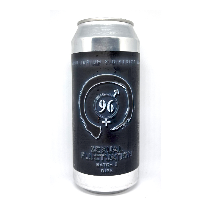 EQUILIBRIUM + DISTRICT 96 BEER FACTORY SEXUAL FLUCTATION DIPA 8.0%