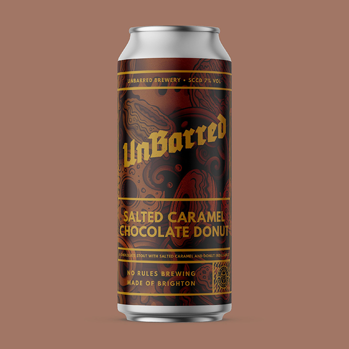 UNBARRED SALTED CARAMEL CHOCOLATE DONUT STOUT 7.0%
