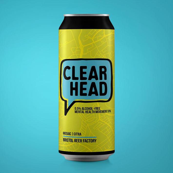 BRISTOL BEER FACTORY CLEAR HEAD PALE AF 0.5%