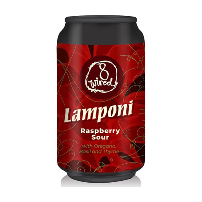 8 WIRED LAMPONI RASPBERRY SOUR 5.0%
