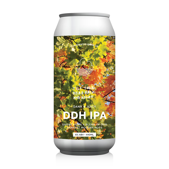 CLOUDWATER TILT YOUR HEAD BACK AND RELAX IPA 6.0%