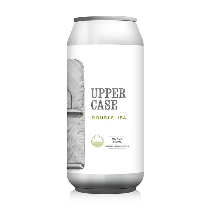 CLOUDWATER + TRILLIUM UPPERCASE DIPA 9.0%