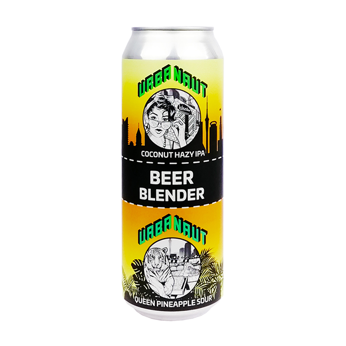 URBANAUT BEER BLENDER COCONUT HAZY IPA x PINEAPPLE SOUR 5.8%