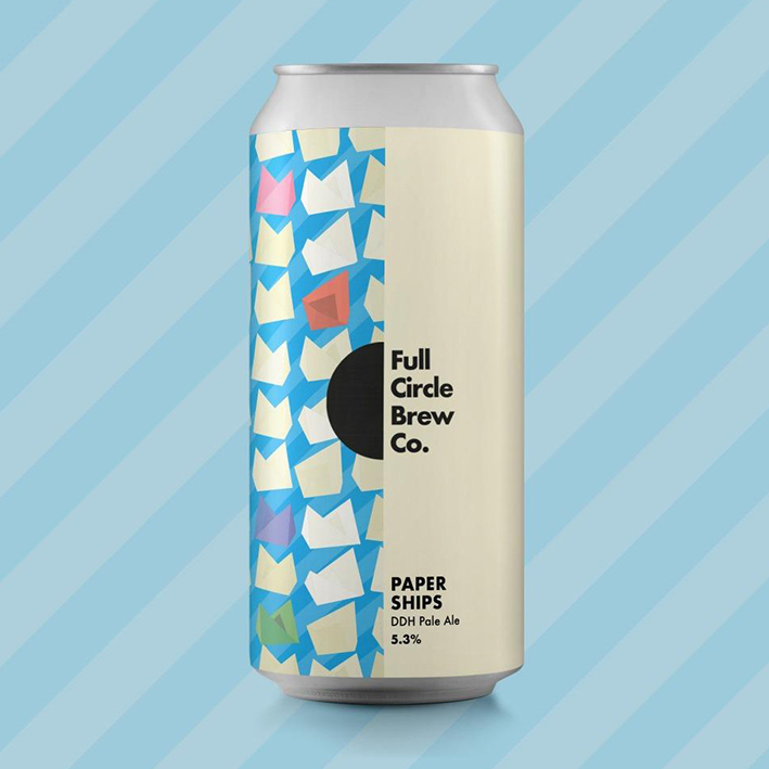 FULL CIRCLE PAPER SHIPS DDH PALE 5.3%