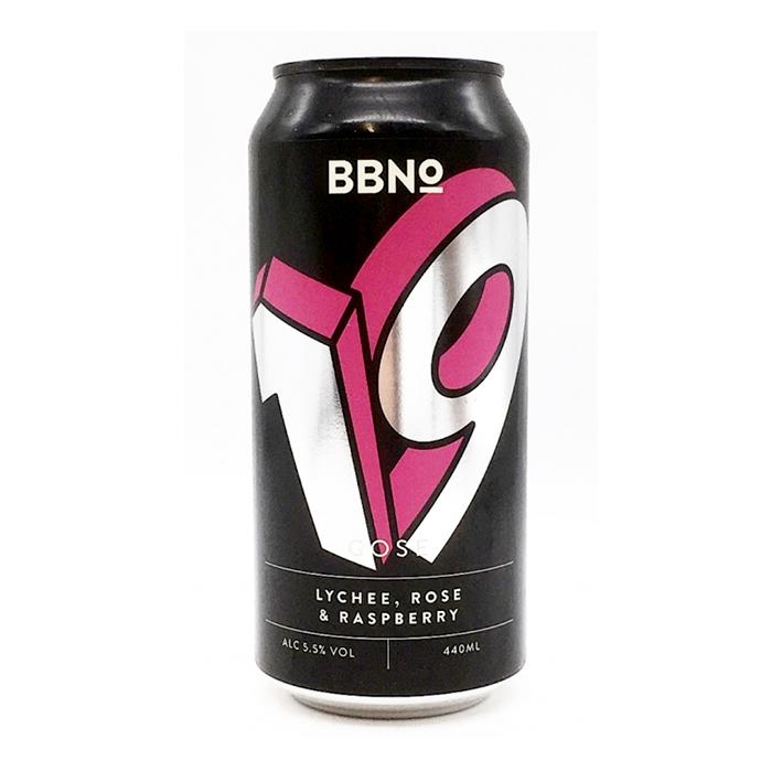 BBNO 19 GOSE LYCHEE ROSE & RASPBERRY SOUR 5.5%