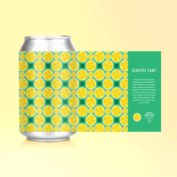 BRICK LEMON TART SOUR 3.6%
