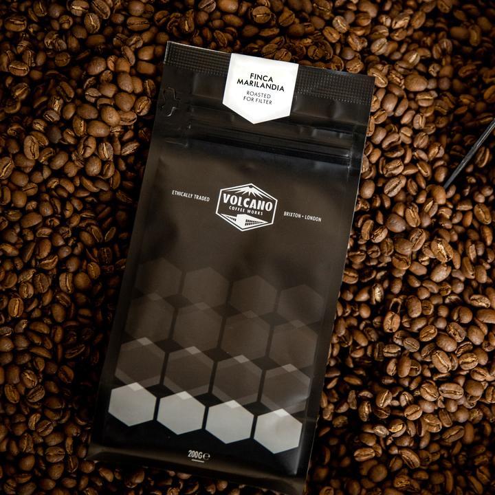 VOLCANO COFFEE FINCA MARILANDIA GUATEMALA