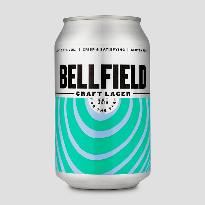 BELLFIELD CRAFT LAGER 5.2%