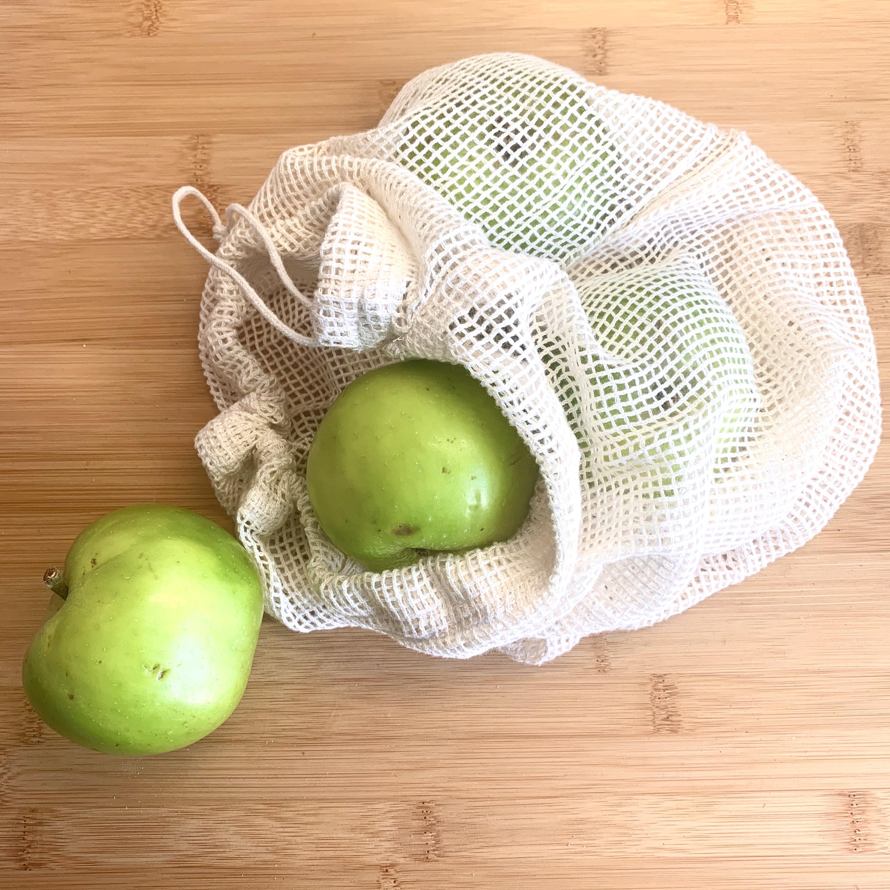 Organic Cotton Produce Bag Mesh