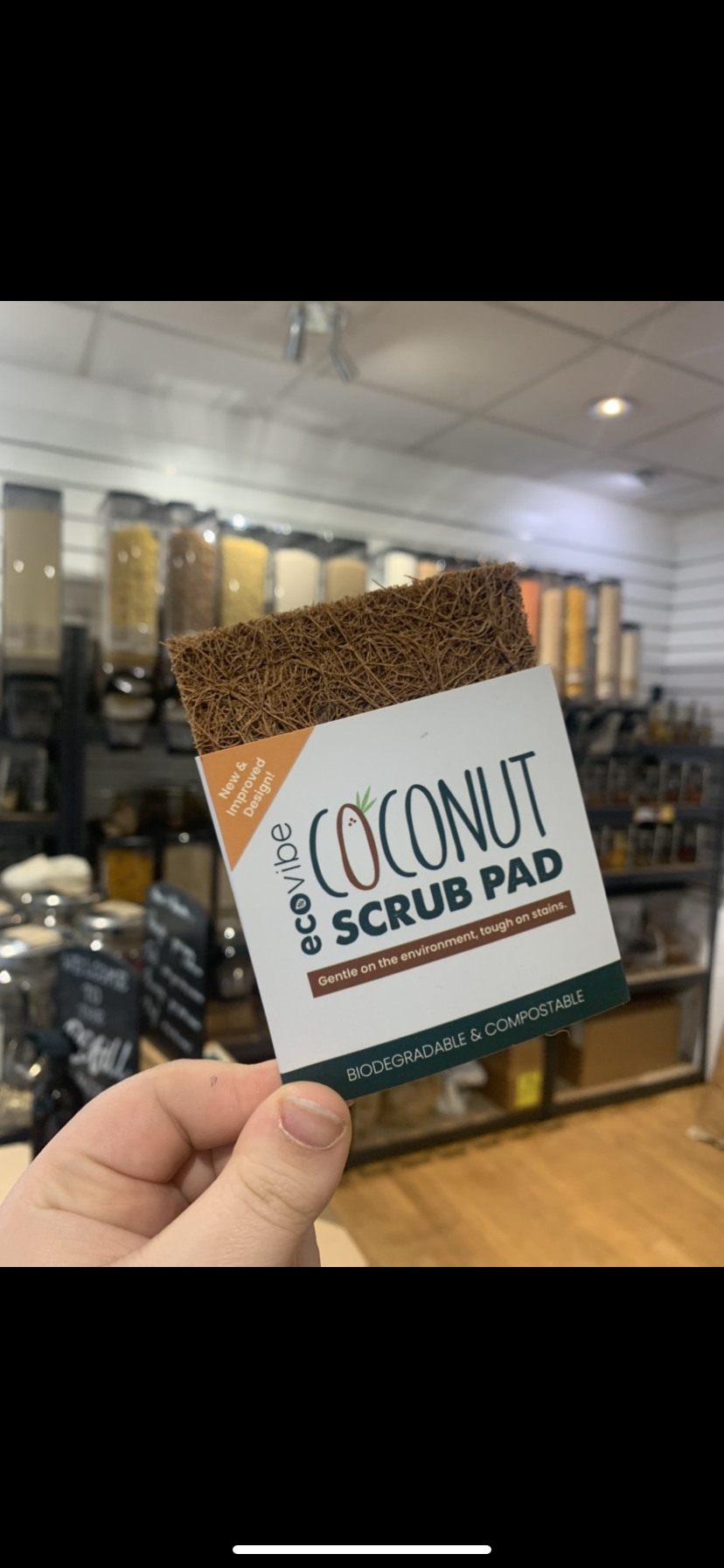 Coconut Scourer Pad